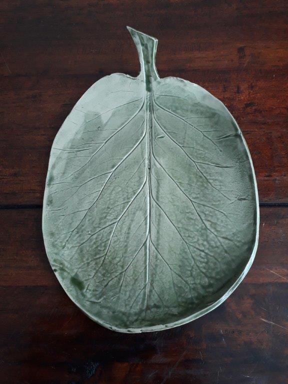 Steengoed blad pottenbakkerij Grun